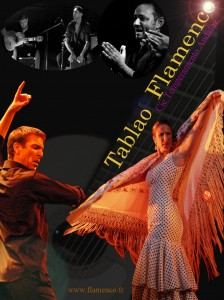 Affiche tablao flamenco 2013